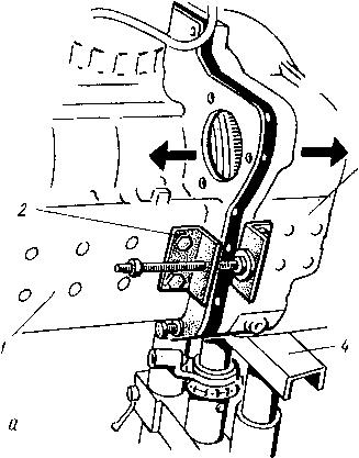 Откатка передней полурамы дизеля МТЗ 82