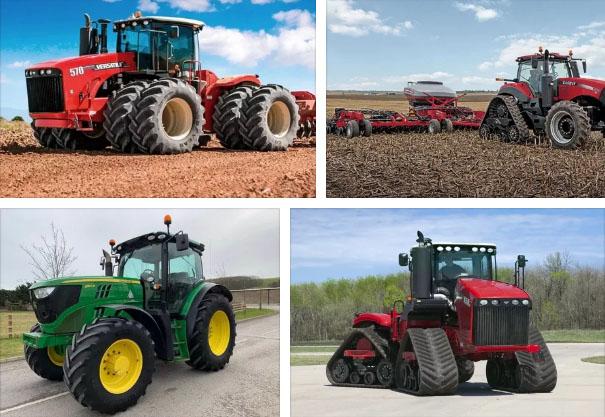 Все виды тракторов и их название фото