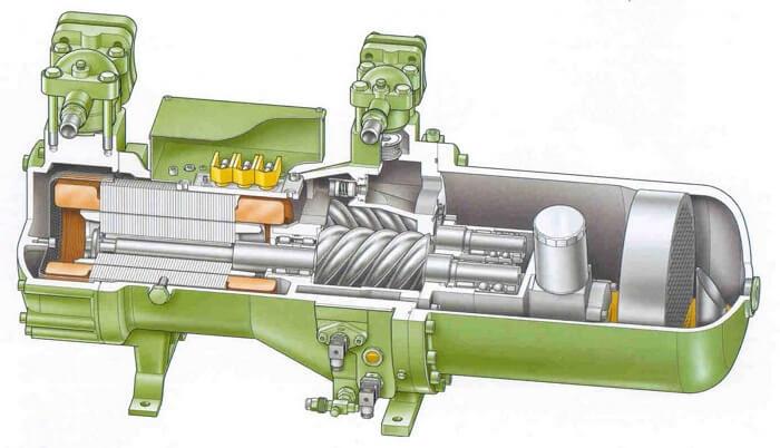 vintovoj kompressor rabota1